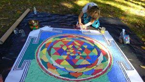 Yoga Insieme (22 maggio 2016) - Mandala Dipinto