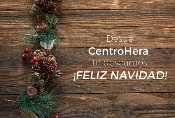 Feliz Navidad de parte del Equipo de Centro Hera