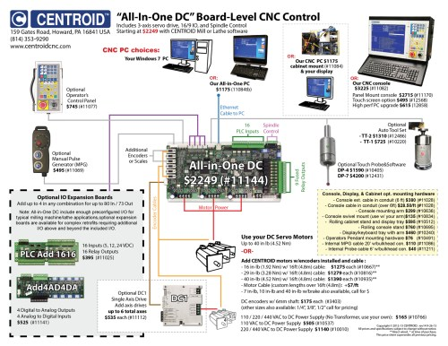 small resolution of centroid cnc control visual price sheet