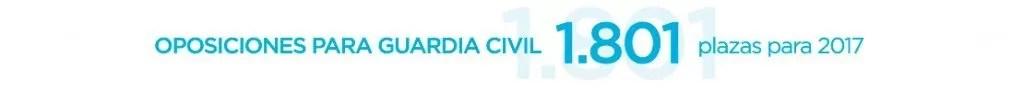 preparar oposiciones guardia civil