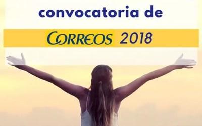 Novedades sobre las oposiciones Correos 2018