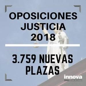 oposiciones justicia 2018