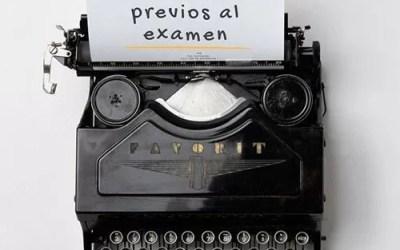 Cómo estudiar los días previos a los exámenes Justicia 2018