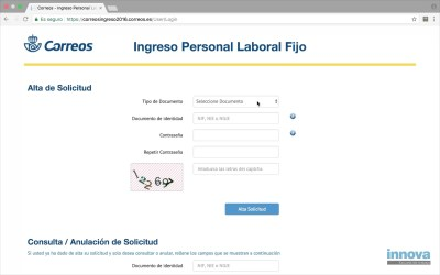 Video tutorial para la inscripción a Correos