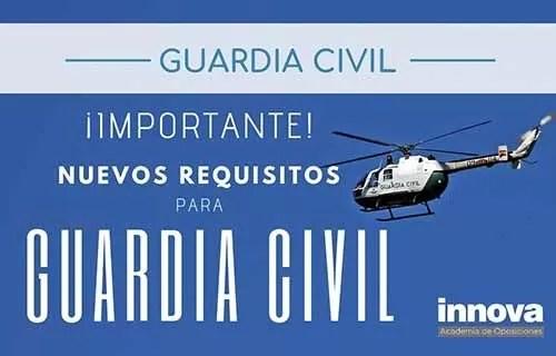 requisitos guardia civil 2019