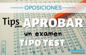 cómo aprobar un examen tipo test
