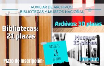 convocatoria archivos bibliotecas 2019