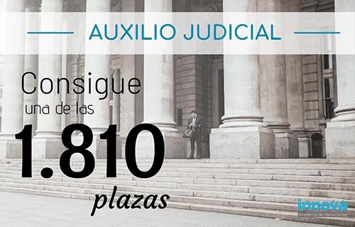 Inminente convocatoria de Auxilio Judicial