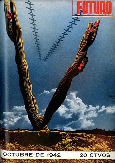 Portada de octubre del año 42 de la revista Futuro