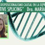 """Portada del libro: Disposicionalismo causal en la expresión génica: """"ALTERNATIVE SPLICING"""""""