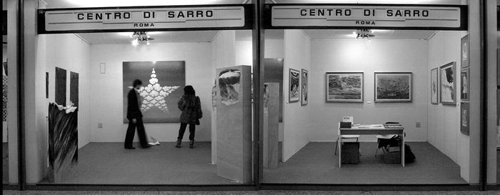 Il Centro Di Sarro. L'attività a Roma e altrove, a cura di E. Crispolti, VIII Expoarte, Bari 1983