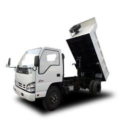 dump truck 4 5 cum isuzu nqr [ 1024 x 1024 Pixel ]