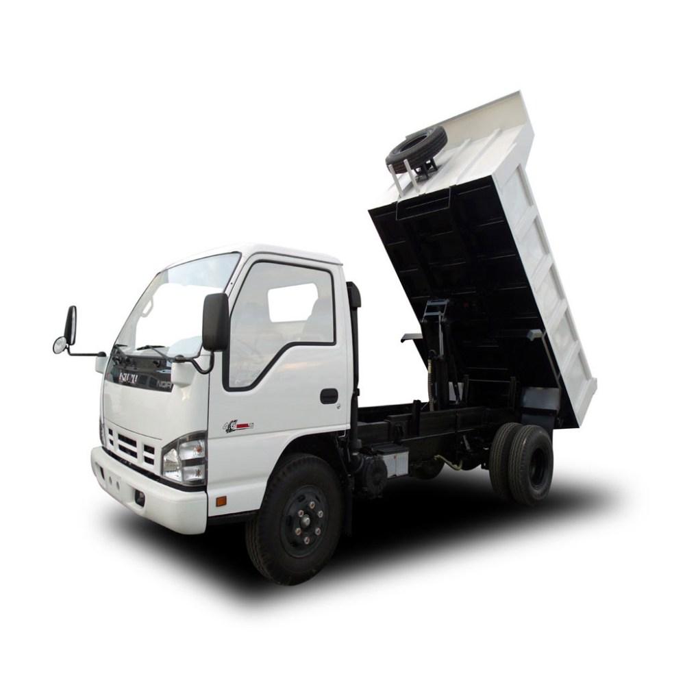 medium resolution of dump truck 4 5 cum isuzu nqr