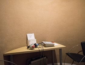 Room for hearing tests