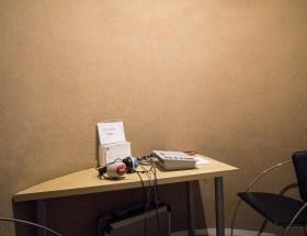 Sala de audífonos