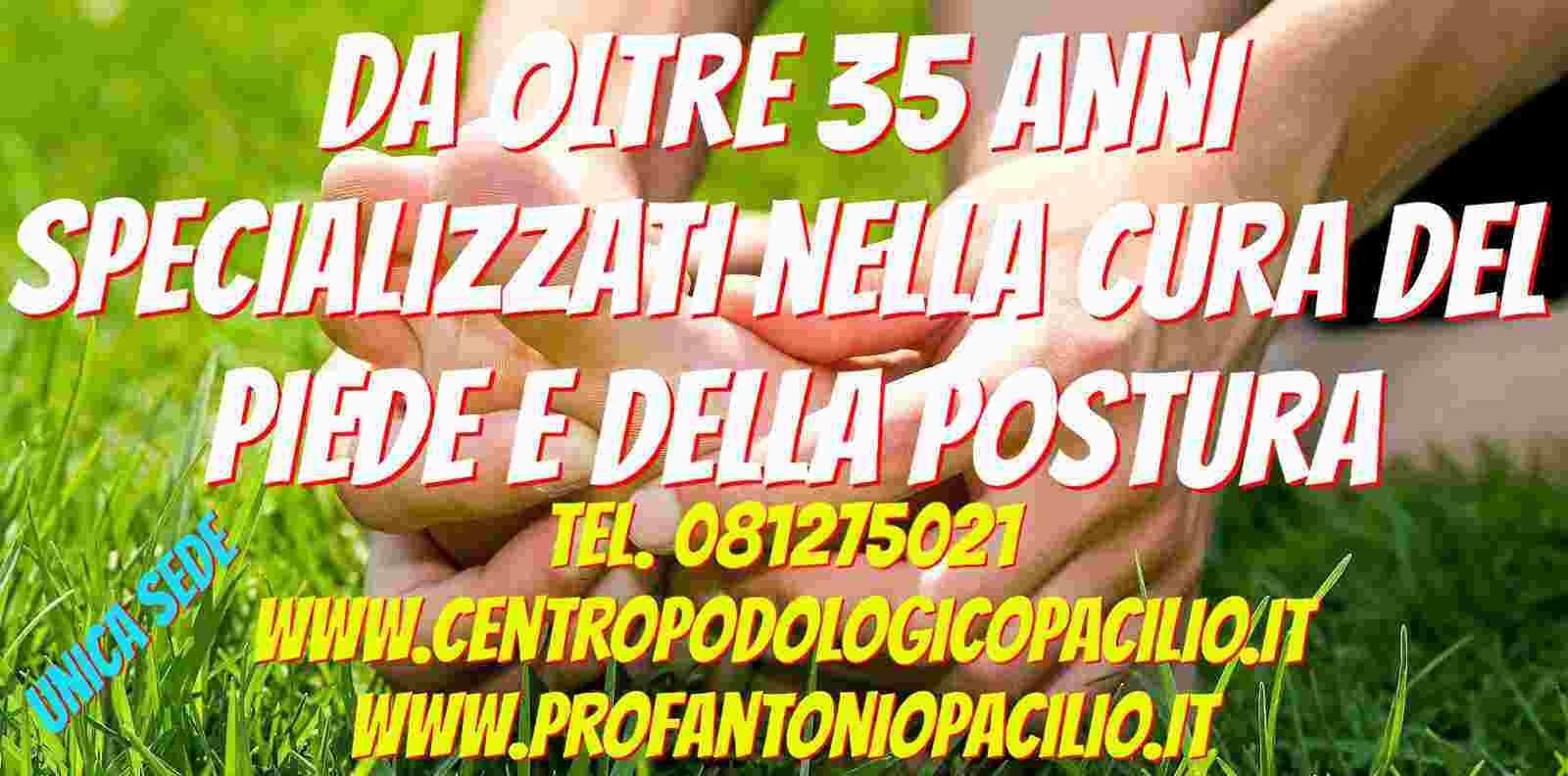 Centro Podologico Pacilio Home Centro Podologico Pacilio