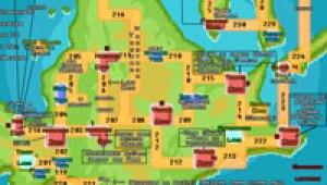 Mapa detallado de Shinou