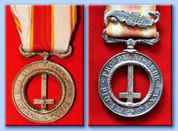 medaglie pontificie