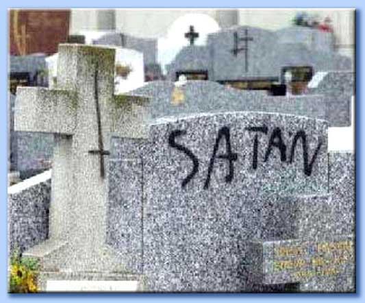 graffiti satanici