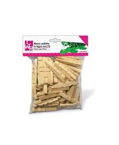 mezze mollette in legno