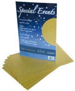 special events carta satinata oro 120gr