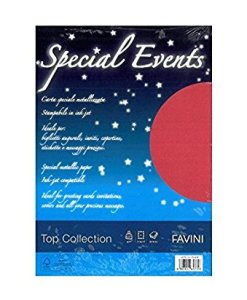Carta special events rosso 120gr