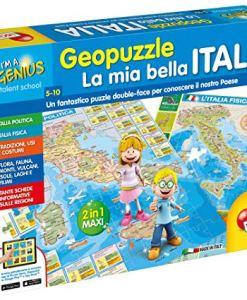 lisciani gioco di geografia italia