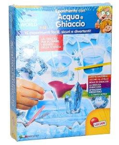 lisciani piccolo genio acqua e ghiaccio