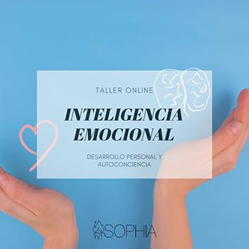 Inscríbete al taller online de Inteligencia emocional de la Fundación Sophia