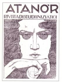 Frontespizio della rivista Atanòr, 1924 di Dario Wolf