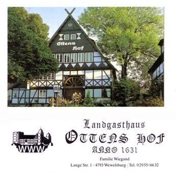 Il Dorfgemeinschafthaus oggi Ottens Hof