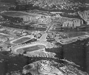 Veduta del Foro Mussolini