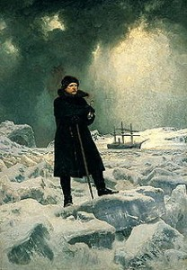 Adolf Erik Nordenskjöld in un dipinto di Georg von Rosen del 1886.