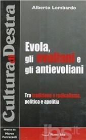 Alberto Lombardo à propos de Julius Evola