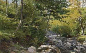 Guido Boggiani, Il ruscello (1883)