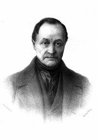 Auguste Comte (Montpellier, 19 gennaio 1798 – Parigi, 5 settembre 1857)