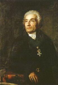 Joseph-Marie de Maistre (Chambéry, 1º aprile 1753 – Torino, 26 febbraio 1821).