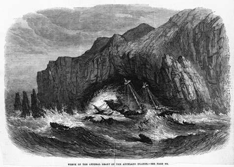 Una epopea del mare: il naufragio della «General Grant» alle Isole Auckland, 1866