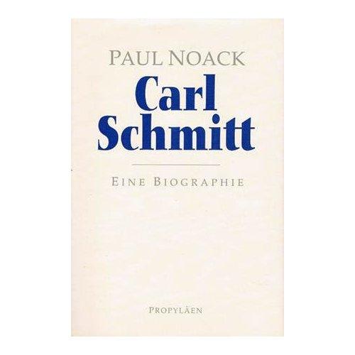 Une biographie de Carl Schmitt