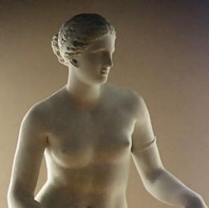 Prassitele, Afrodite Cnidia. Glyptothek, Monaco (Germania).