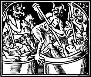 Claude Noury, Le voyage du puys sainct Patrix auquel lieu on voit les peines de Purgatoire et aussi les joyes de Paradis, Lyon 1506.