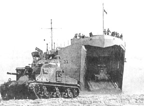 Sbarco delle forze armate americane a Gela.