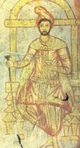 Ritratto di Zarathustra. Tempio mitraico a Dura Europus (attuale Siria), III secolo d.C.