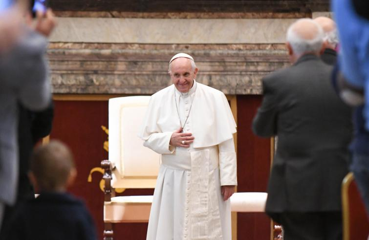 Papa Francesco riceve il Forum delle Famiglie il 16 giugno 2018