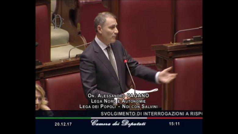 Triptorelina: domande dell'on. Pagano al ministro Grillo