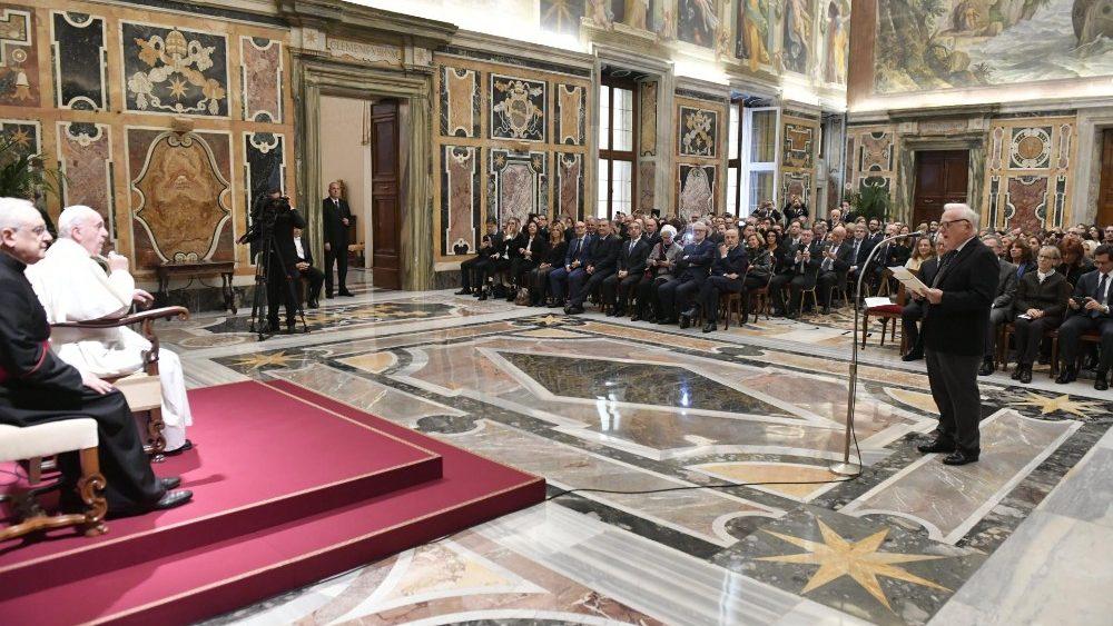 Mauro Ronco udienza papa Francesco