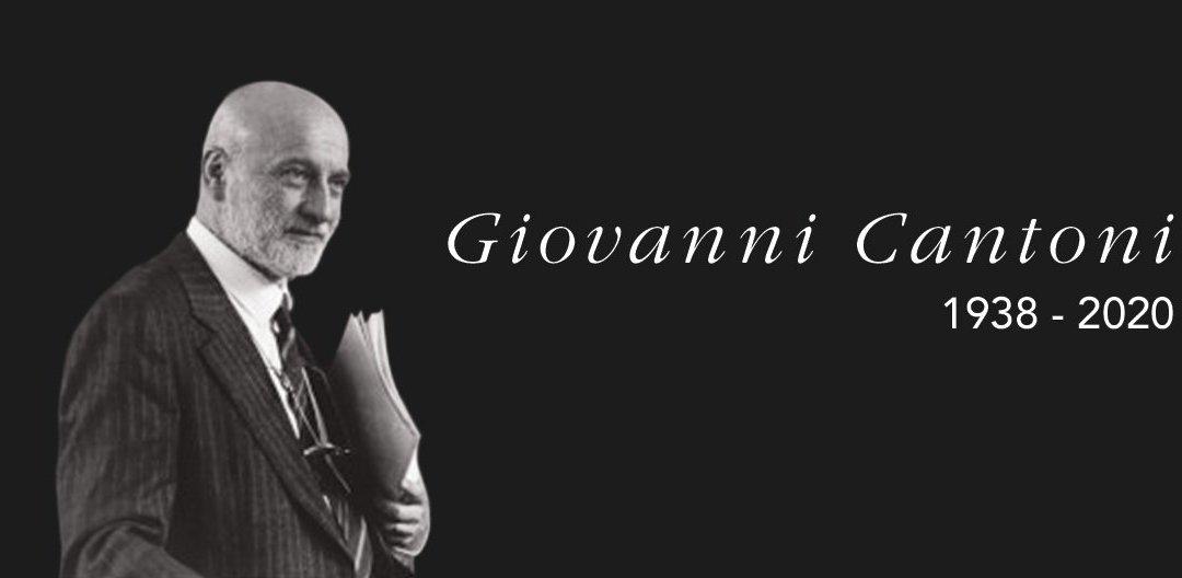 Giovanni Cantoni – In memoriam