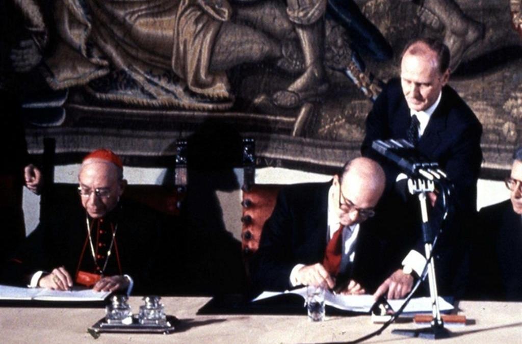 concordato del 1984 tra Stato italiano e Chiesa