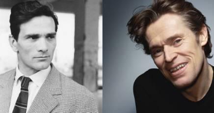 Pier Paolo Pasolini e il suo interprete Willem Dafoe