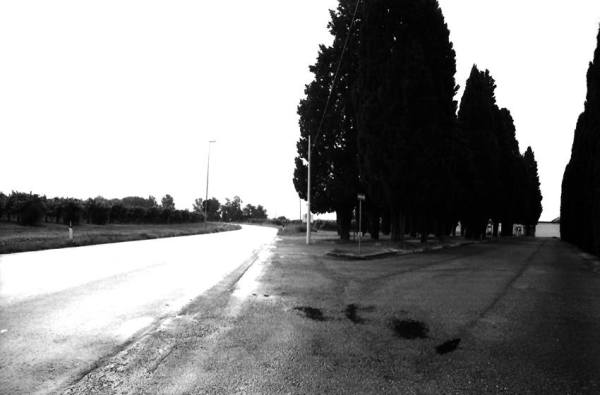 © Giovanna Gammarota, Verso il cimitero di Casarsa, 2008
